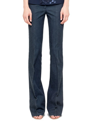 Fae Boot-Cut Denim Jeans