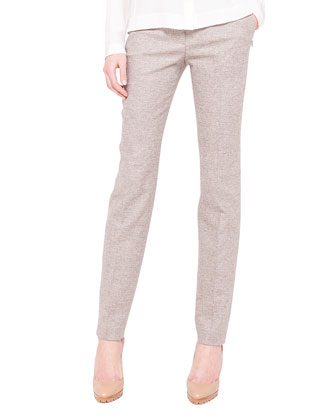 Melvin Fine Tweed Slim Pants