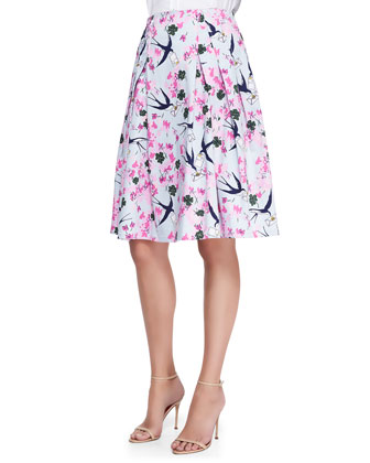 Sparrow, Love Letter & Floral-Print Party Skirt