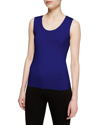 Stretch-Jersey Tank Top