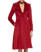 Long Alpaca Princess Coat
