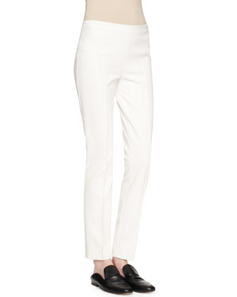 Ismenia Merino-Cashmere Sweater and Shama Slim-Leg Pants
