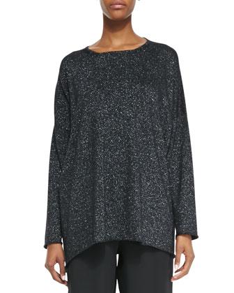 A-Line Bateau Neck Sweater