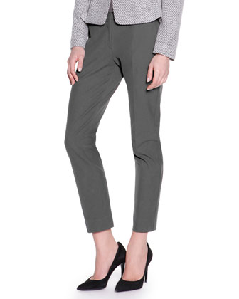 Kim Sateen Ankle Pants