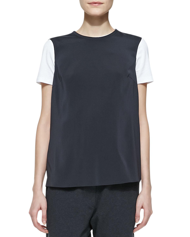 Womens Long Sleeveless T Shirt   Brunello Cucinelli   Volcano (XS/2)