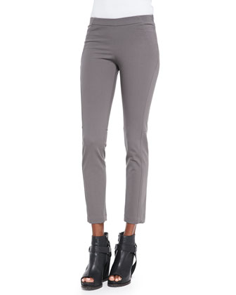 Cropped Stretch Jodhpur Pants