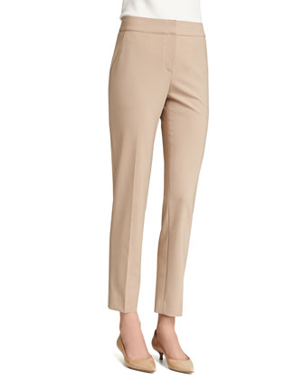 Emma Modern Stretch Pants, New Camel