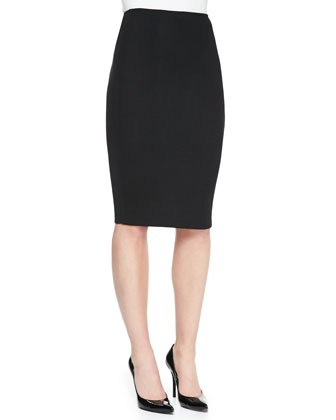Pencil Skirt, Caviar