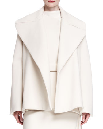 Laria Stretch Crepe Jacket, Sesil Sleeveless Top & Lynn Wool Crepe Midi ...