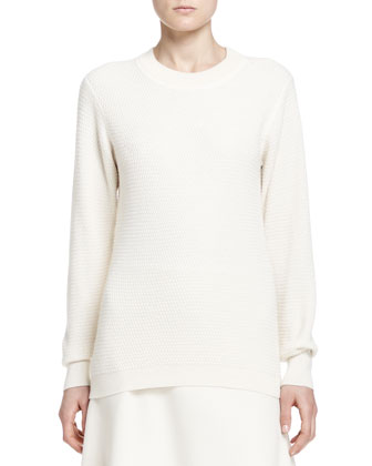 Alden Long-Sleeve Knit Top