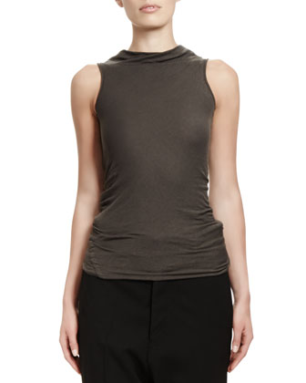 Slub Jersey Sleeveless T-Shirt
