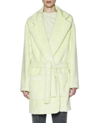 Oversize Alpaca/Wool Belted Coat