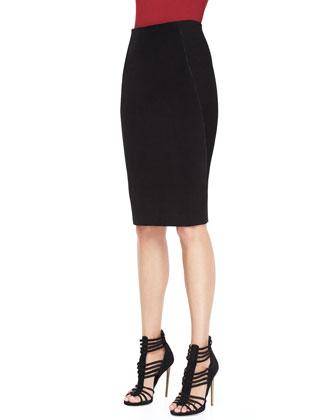 Combo Pencil Skirt