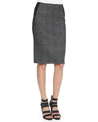 Straight Combo Skirt