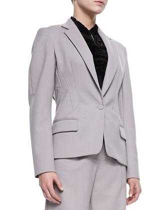 Cinched-Waist Jacket