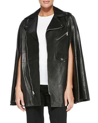 Dean Leather Moto Cape