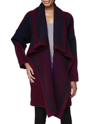 Blanket Coat, Claret
