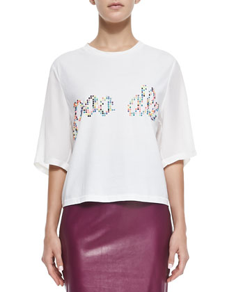 Poodle Cropped Tee