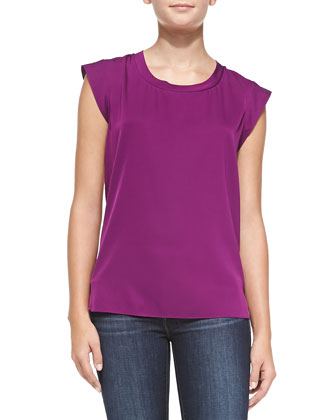 Cap-Sleeve Muscle, Orchid