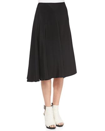 Embellished-Neck Shirt and Horizon Full Combo Skirt