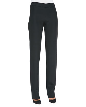 Side-Zip Cady Pants