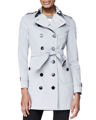 Double-Breasted Fitted Trenchcoat