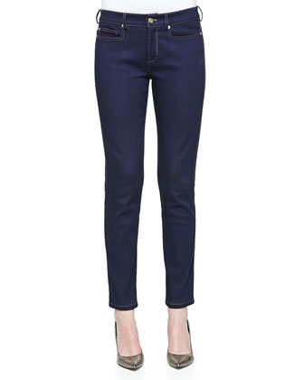Soft Stretch Denim Pants