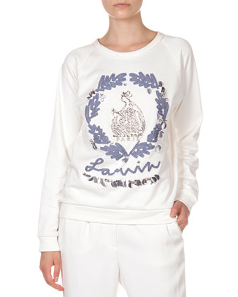 Special Anniversary Edition Sweatshirt & Self-Belted Ankle Pants