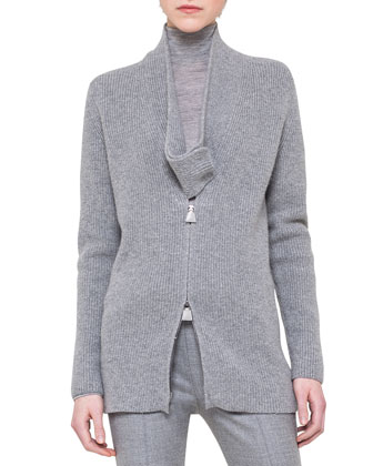 New Shawl-Collar Cardigan, Long-Sleeve Jersey Pullover & Melissa Slim ...