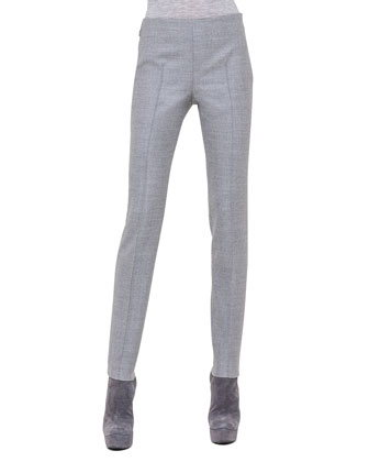 Melissa Slim Flannel Ankle Pants