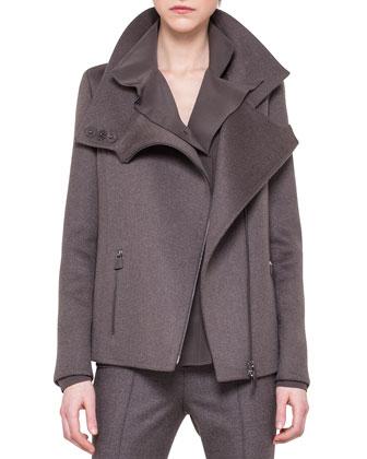 Cashmere Swing-Back Jacket