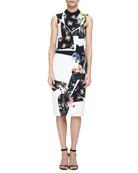 Brennon Printed Shift Dress