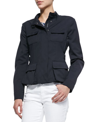 Flap-Pocket Utility Jacket