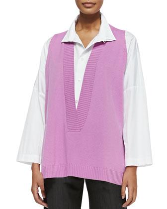 Cashmere A-Line Vest