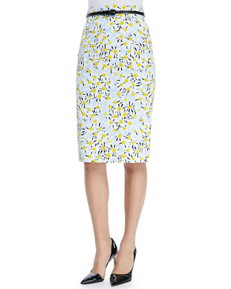 Daisy Pencil Skirt