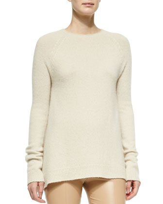 Cashmere/Silk A-Line Sweater