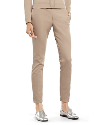 Stone Cotton Stretch Scuba Skinny Pant