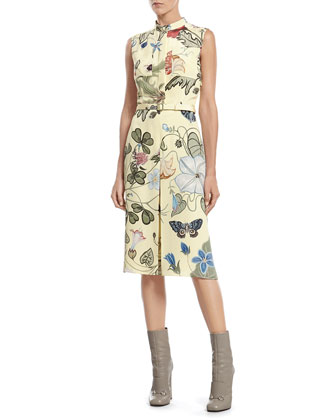 Flora Knight Light Matte Cady Dress
