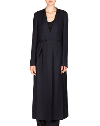 Cotton-Blend Vantin Coat & Stretch Wool Damien Pants