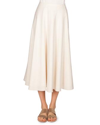 Silk Burette Vetlan Skirt