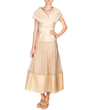 Silk Organza Vanni Skirt