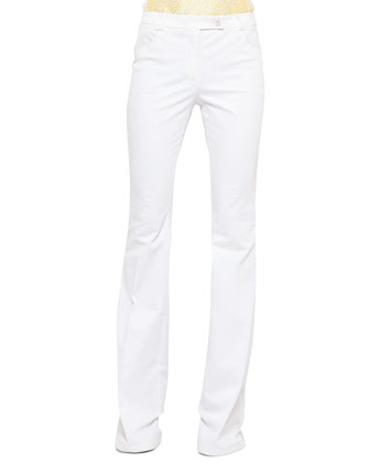 Milton Full-Length Boot-Cut Jeans