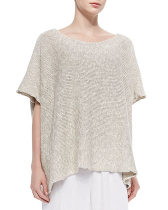 Mid-Length Cotton/Linen Caftan