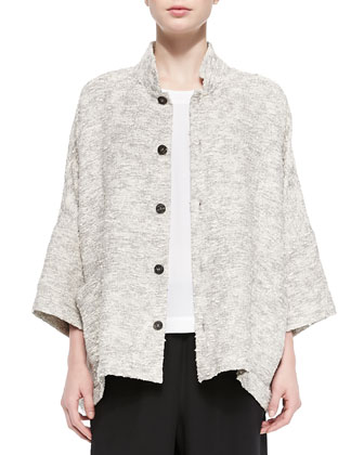 Long Slope-Shoulder Jacket
