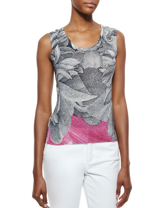 Thilo Westermann Orchid-Print Tank Top