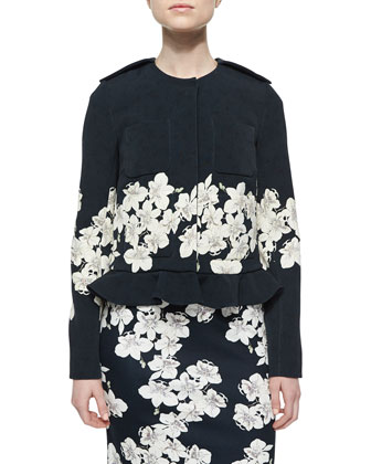 Anical Floral-Border Jacket