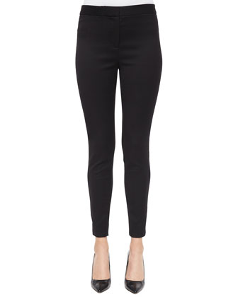 Stretch Skinny Pants, Black