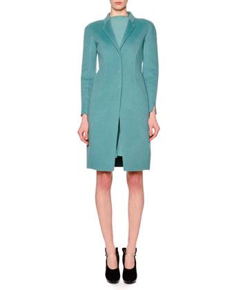 Cashmere Slim-Fit Coat