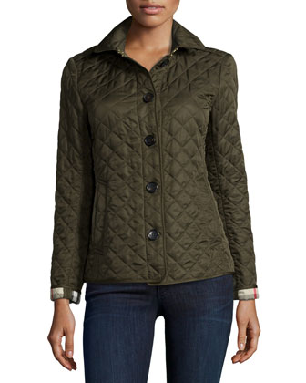 Ashurst Modern Diamond Quilted Jacket