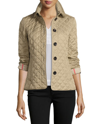 Ashurst Classic Modern Quilted Jacket